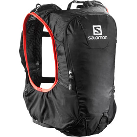 Salomon Skin Pro 10 Bag Set Black/Bright Red